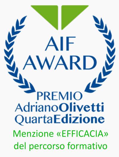 certificazione premio Adriano Olivetti